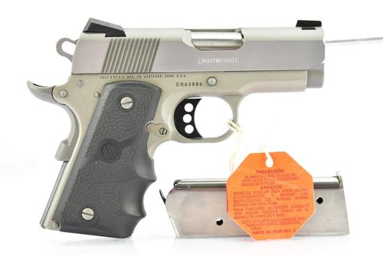 Colt, 1911 Lightweight Defender, 45 ACP Cal., Semi-Auto, W/ Hardcase, SN - DR63886