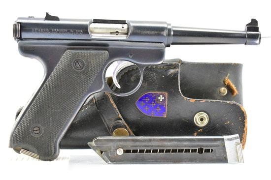 "1963 Ruger, Mark I ""Standard"", 22 LR Cal., Semi-Auto, W/ Holster & Magazine, SN - 245528"
