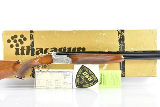 1969 Ithaca SKB, Engraved Model 700 Trap, 12 Ga., Over/Under, W/ Box & Paperwork, SN - 5700404