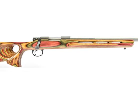 Remington, 700 Custom, 22-250 Cal., Bolt-Action, (Fluted Stainless Bull Barrel), SN - G6541423