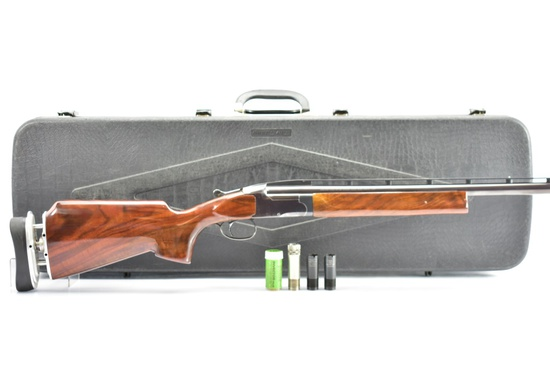 Browning, BT-99 Trap, 12 Ga., W/ Left & Right Handed Stocks, In Case, SN - 01698MZ171
