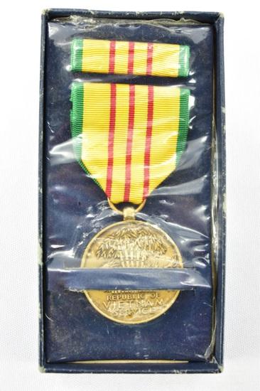 U.S. Vietnam Service Medal (VSM) - Unissued W/ Box