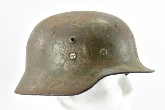 WWII German Combat Police Helmet