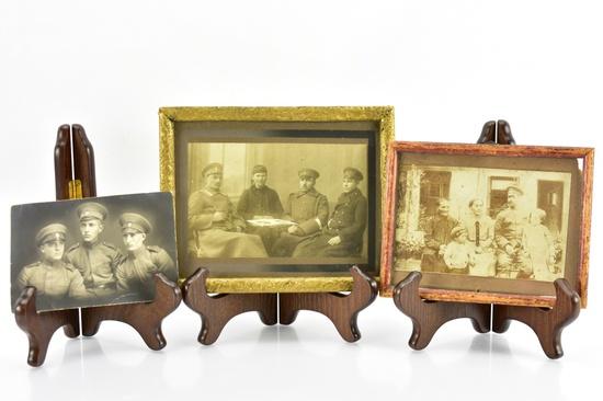 (3) Original WWI Photos - Sells Together