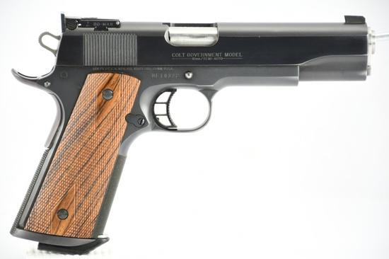 1987 (FIRST YEAR) Colt, Govt. Delta Elite, 10mm Cal., Semi-Auto, (W/ Box & Paperwork, SN - DE10322