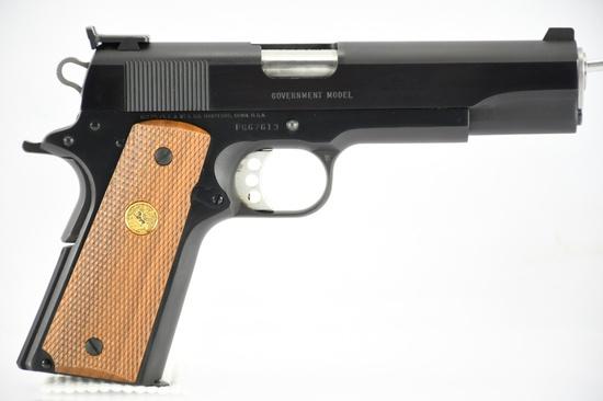 "1987 Colt, Government Model MK IV ""Series 80"", 38 Super Cal., Semi-Auto, SN - FG67613"