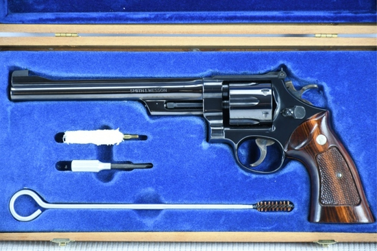 1976 Smith & Wesson, Model 27-2, 357 Mag. Cal., Revolver, (W/ Case & Paperwork) SN - N354472