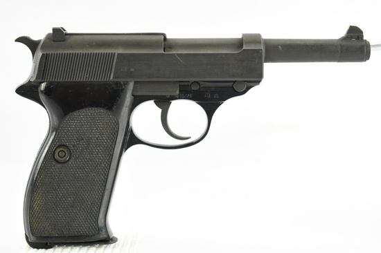 1978 Walther, Model P1 (P38), 9mm Luger Cal., Semi-Auto, SN - 408932