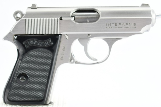 1987 Walther, Model PPK, 380 ACP, Semi-Auto, (W/ Case, Extra Mag. & Paperwork), SN - A057885