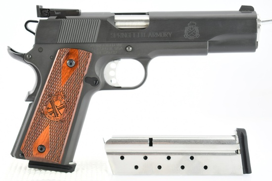 Springfield, 1911 Loaded Target, 9mm Luger Cal., Semi-Auto (W/ Hardcase), SN - NM379732