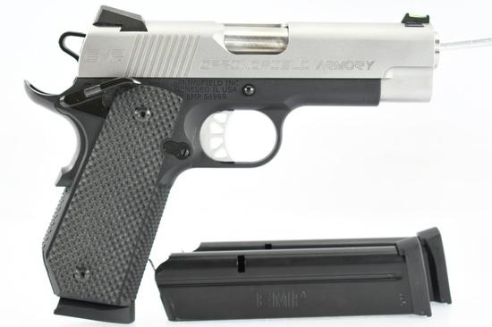 "Springfield, 1911 EMP 4"" Champion, 9mm Luger Cal., Semi-Auto (W/ Hardcase), SN - EMP56969"