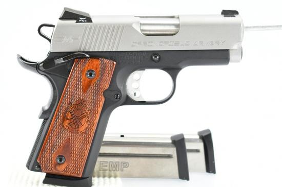 "Springfield, 1911 EMP 3"" Champion, 9mm Luger Cal., Semi-Auto (W/ Hardcase), SN - EMP34625"