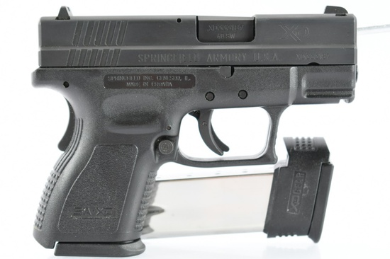 "Springfield, XD 3"" Sub-Compact, 40 S&W Cal., Semi-Auto (W/ Hardcase), SN - XD333187"