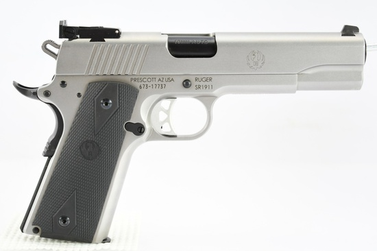 Ruger, SR1911 Target, 10mm Auto Cal., Semi-Auto, SN - 673-17737