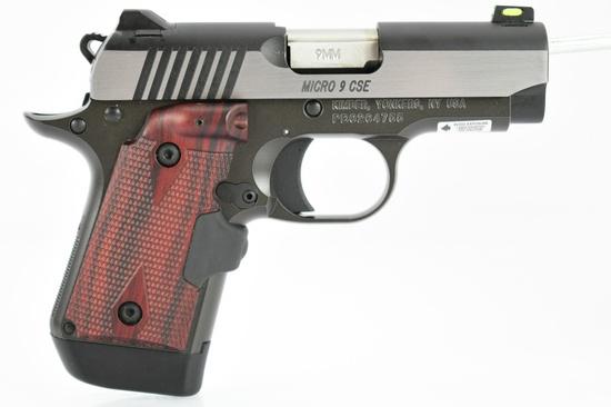 Kimber, Micro 9 CSE, 9mm Luger Cal., Semi-Auto (W/ Case & Accessories), SN - PB0204755