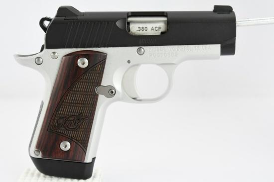 Kimber, Micro Carry, 380 ACP Cal., Semi-Auto (W/ Case & Accessories), SN - P0070382
