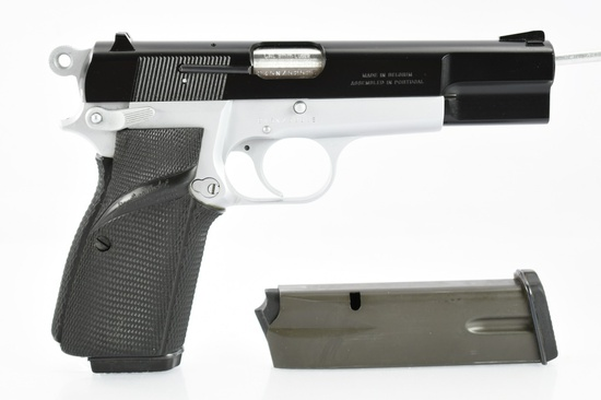 1991 Browning, Hi-Power, 9mm Luger Cal., Semi-Auto (W/ Box), SN - 245NZ52525