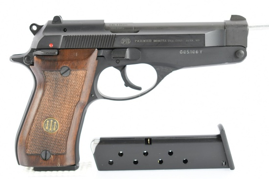 "1992 Beretta, Model 86 ""Tip-Up"", 380 ACP Cal., Semi-Auto (W/ Box & Hardcase), SN - G05106Y"