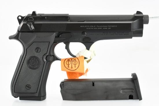 Beretta, Model 92FS, 9mm Luger Cal., Semi-Auto (W/ Box & Hardcase), SN - J07789Z