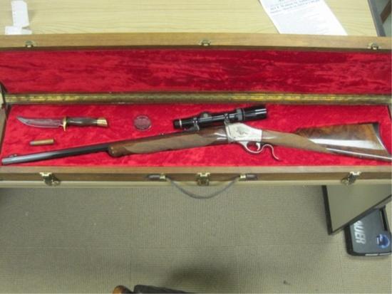 """Browning - Belgium mod.1776 45-70 cal falling block single shot rifle 1000"