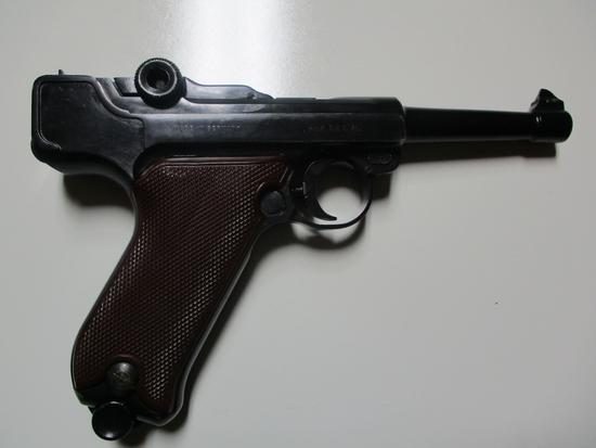 Erma mod. LA22 22 LR cal semi auto pistol ser # 14757