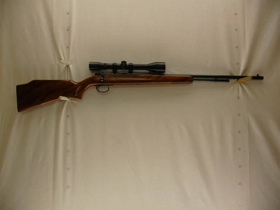 Remington mod. 582 22 S-L-LR cal bolt action rifle w/4x40 SPI scope ser # 1