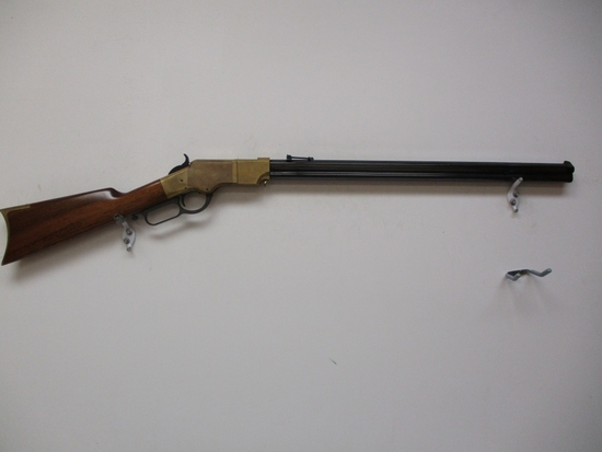 A.Uberti Navy Arms - Henry's pat. mod. 1866 44-40 lever action rifle brass
