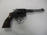 Smith & Wesson mod Outdoorsman 38 SPL cal revolver