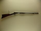 Winchester mod 1890 22 short cal pump rifle