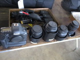 Camera King package: EOS-ID with 2 batteries (no charger)  16-35 mm, 24-70 mm, 135 mm, 85 mm, 5 comp