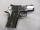 Kimber mod Eclipse Ultra II, 5 ACP cal semi auto pistol