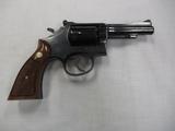 Smith & Wesson mod 15.3 38 S & W special revolver
