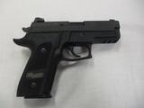 Sig Sauer mod P229 Elite 9mm semi auto pistol