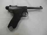 Japanese mod Papa Nambu 8mm cal semi auto  pistol Pre-WWII, 4th year Ser# 3297