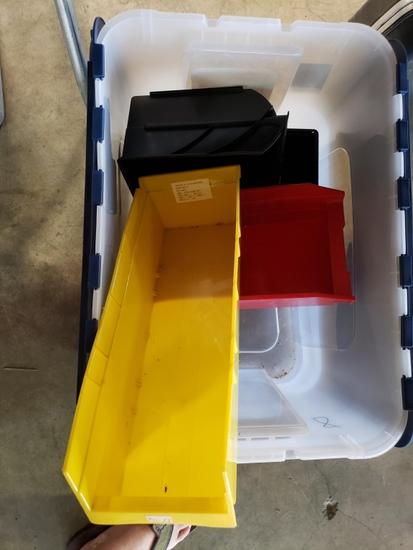 Misc. organizer bins