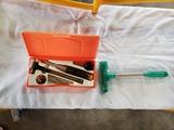 Gun cleaning kit - bullet remover