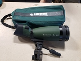 Konus Spot 100 spotting scope w/bag and Giottos window clamp mount