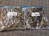 2 bags 9 mm brass
