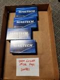200 rds MagTech 9mm Luger centerfire FMC 115 gr