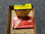 1 full bx Remington 270 WIN 130 gr centerfire Core-Lokt PSP, 8 ct Federal 270 WIN 130 gr soft point