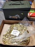 1000 rounds 45 auto bullets w/ammo box