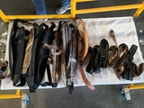 9 assorted rifle slings
