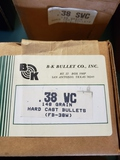 1 partial box 38WC/1 full box 38SWC bullets