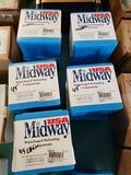 9 full & 1 partial boxes 45 cal bullets 200 grain flex tip - 100 rd per box
