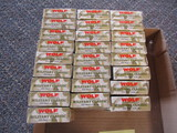25 boxes of Wolf Military Classic .223 REM 55 GR F