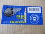 Silver Bear .223 Rem 5.56x45mm 55 GR FMJ 500 cartr