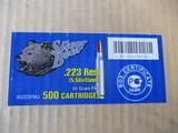 Silver Bear .223 Rem 5.56x45mm 55 GR FMJ 500 cart