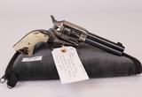 Colt mod Single Action Army 1st Generation Frame 45 long Colt cal revolver