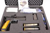CZ mod 75 95 orange 9mm semi auto pistol