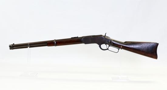 Winchester mod 1873 38 WCF cal L/A rifle